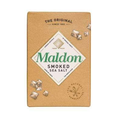 2343 - Maldon sea salt flakes smoked 125 gr