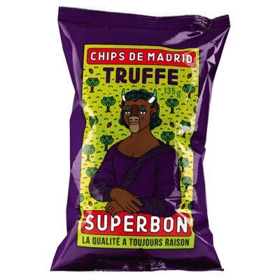 6951 - Superbon Chips Truffle 135 gram
