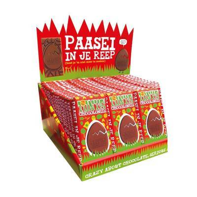 90075 - Tony's Chocolonely paasreep display 60 repen 180 gram
