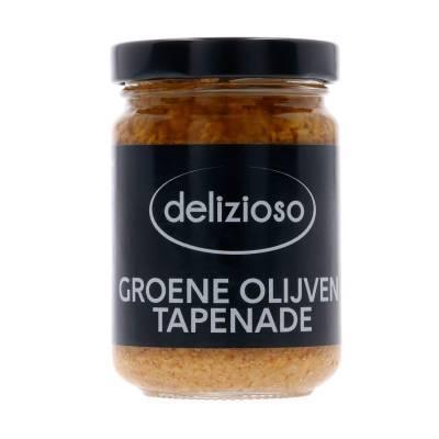 9813 - Delizioso Groene Olijven Tapenade 130 gr