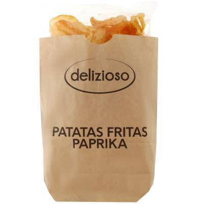 9814 - Delizioso Patatas Fritas Paprika 130 gr