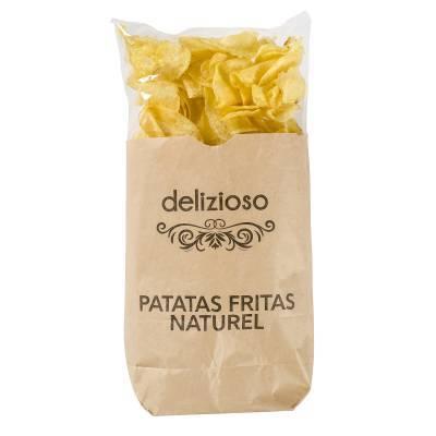 9802 - Delizioso Patatas Fritas Naturel 110 gr