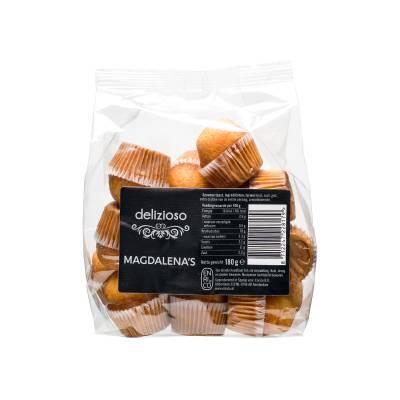 9831 - Delizioso Magdalena's Naturel 180 gr