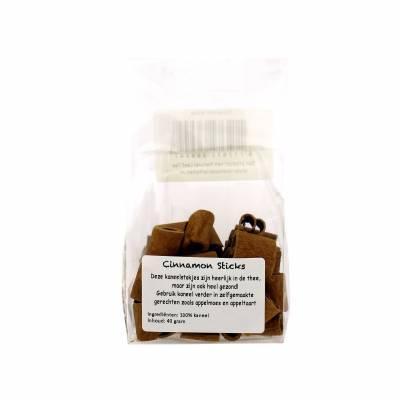 2174 - Natural Leaf Tea kaneelstokjes 40 g