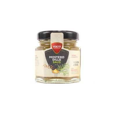 1009 - Voets mosterd-dillesaus mini 45 ml