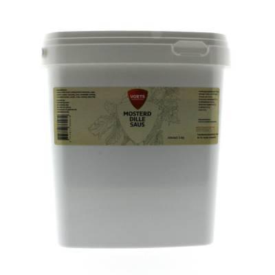 1010C - Voets voets mosterd-dillesaus 5000 gram