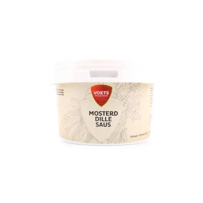 1011 - Voets mosterd-dillesaus emmertje 500 ml