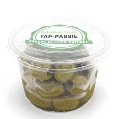 17999 - Wilma's Olijven Groene olijven naturel 125 gram