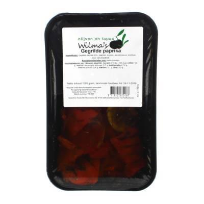 18066 - Wilma's Olijven gegrilde paprika 1000 gram