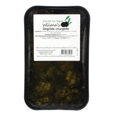18068 - Wilma's Olijven gegrilde courgette 1000 gram
