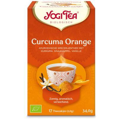 7513 - Yogi Tea Turmeric Orange 17 TB
