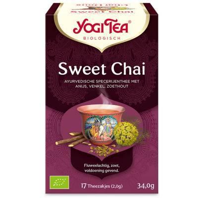 7518 - Yogi Tea Sweet Chai 17 TB