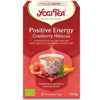 7546 - Yogi Tea Positve Energy Cranberry Hibiscus 17 TB