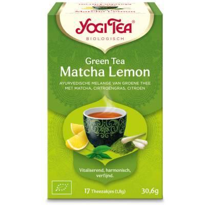 7569 - Yogi Tea Green Tea Matcha Lemon 17 TB