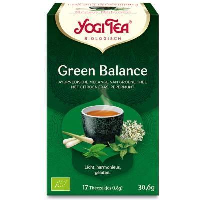 7570 - Yogi Tea Green Balance 17 TB