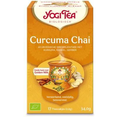 7584 - Yogi Tea Turmeric Chai 17 TB