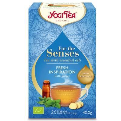 7586 - Yogi Tea For The Senses Pure Freshness 20 TB